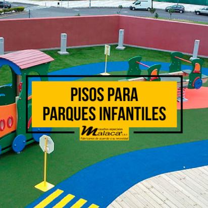 La seguridad de los pisos de caucho para juegos infantiles