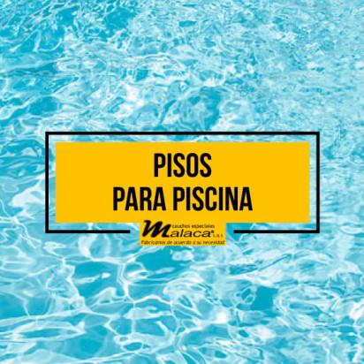 Pisos para piscina en caucho más seguros y prácticos