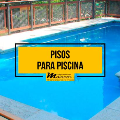 Le ofrecemos excelentes opciones en pisos para piscina