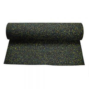 Piso de caucho EPDM verde