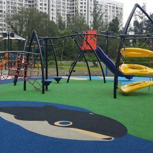 Piso parque infantil