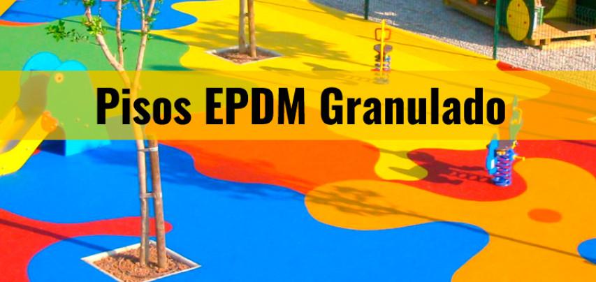 Pisos en caucho EPDM, divertidos y seguros