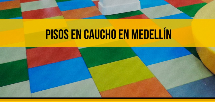 Pisos en caucho en Medellín, una solución efectiva