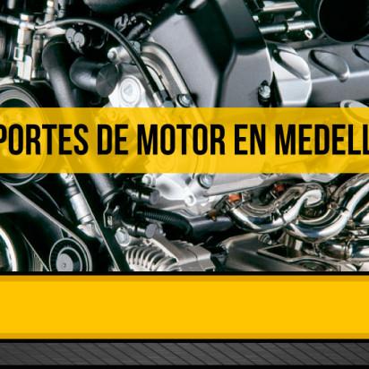 Soportes de motor en Medellín, para cuidar su vehículo