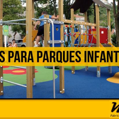 Pisos para parques infantiles con Cauchos Malaca