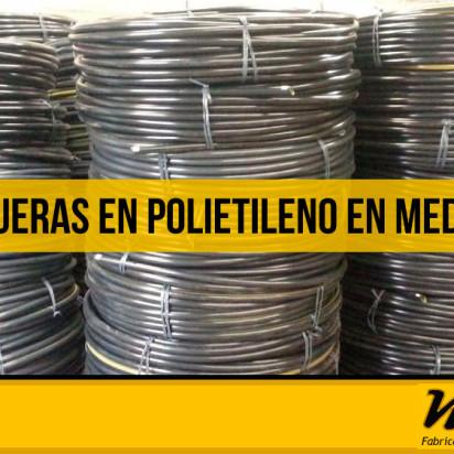 Mangueras en polietileno en Medellín de tipo agrícola y para transporte de fluidos