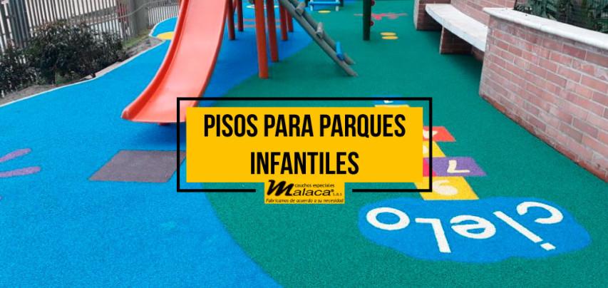 ¿Conoces la seguridad para los pisos para parques infantiles?
