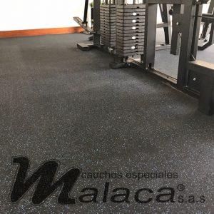 pisos de caucho para gym